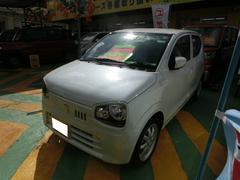沖縄の中古車 スズキ アルト 車両価格 110万円 リ済込 平成27年 10K パールホワイト