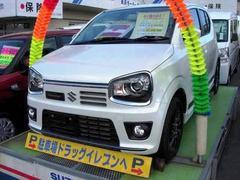 沖縄の中古車 スズキ アルトワークス 車両価格 152万円 リ済別 平成27年 4K パールホワイト
