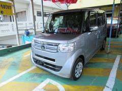 沖縄の中古車 ホンダ N BOX 車両価格 130万円 リ済別 平成29年 5K シルバーM