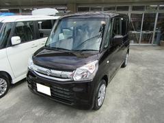沖縄の中古車 スズキ スペーシア 車両価格 133万円 リ済別 平成29年 5K パープル