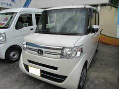 沖縄の中古車 ホンダ N BOX 車両価格 138万円 リ済別 平成29年 5K パール