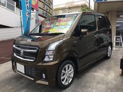 沖縄の中古車 スズキ ワゴンRスティングレー 車両価格 165万円 リ済込 平成29年 171K カーキ