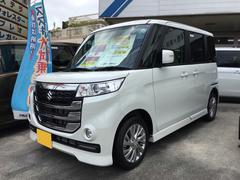 沖縄の中古車 スズキ スペーシアカスタムZ 車両価格 158.7万円 リ済込 平成29年 27K パールホワイト
