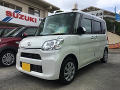 沖縄の中古車 ダイハツ タント 車両価格 124.7万円 リ済込 平成28年 11K パールホワイト