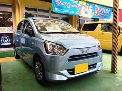 沖縄の中古車 ダイハツ ミライース 車両価格 84万円 リ済込 平成29年 5K ライトブルー