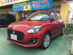 沖縄の中古車 スズキ スイフト 車両価格 164.7万円 リ済込 平成29年 21K レッド