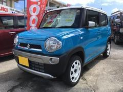沖縄の中古車 スズキ ハスラー 車両価格 120万円 リ済込 平成29年 5K ブルーII