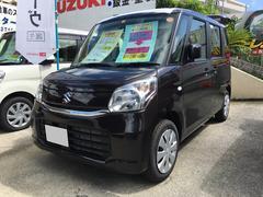 宜野湾市 長浜モーター(有) スズキ スペーシア G 届出済未使用車 Dブラウン 4K 平成29年