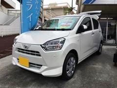沖縄の中古車 ダイハツ ミライース 車両価格 100万円 リ済込 平成29年 13K パールホワイト