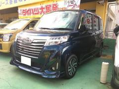沖縄の中古車 ダイハツ トール 車両価格 183.6万円 リ済込 平成29年 5K ダークブルー