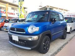 沖縄の中古車 スズキ クロスビー 車両価格 204万円 リ未 新車  ブルーII