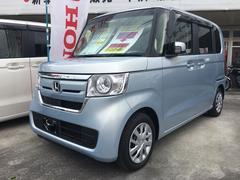 沖縄の中古車 ホンダ N BOX 車両価格 147万円 リ済込 平成30年 5K ミストブルー