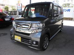 沖縄の中古車 ホンダ N BOXカスタム 車両価格 155万円 リ未 新車  グレーM