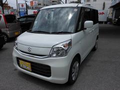 沖縄の中古車 スズキ スペーシア 車両価格 138万円 リ済込 平成29年 10K パールホワイト