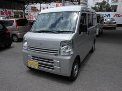 沖縄の中古車 スズキ エブリイ 車両価格 105万円 リ済込 平成29年 6K シルバーM