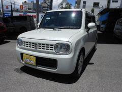 沖縄の中古車 スズキ アルトラパン 車両価格 69万円 リ済込 平成24年 3.7万K パールホワイト