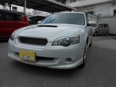 沖縄の中古車 スバル レガシィツーリングワゴン 車両価格 29万円 リ済込 平成15年 20.9万K パールホワイト