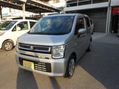 沖縄の中古車 スズキ ワゴンR 車両価格 127万円 リ済込 平成29年 100K シルバーM