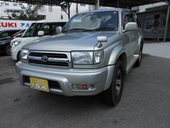 沖縄の中古車 トヨタ ハイラックスサーフ 車両価格 115万円 リ済込 平成11年 4.7万K シルバーM