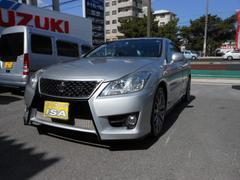 沖縄の中古車 トヨタ クラウン 車両価格 128万円 リ済込 平成21年 16.1万K シルバーM