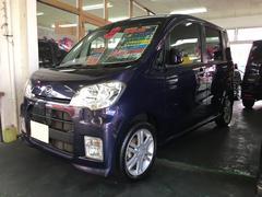沖縄の中古車 ダイハツ タントエグゼ 車両価格 59万円 リ済別 平成23年 7.0万K ダークブルー
