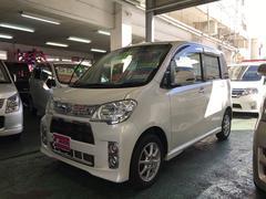 沖縄の中古車 ダイハツ タントエグゼ 車両価格 64万円 リ済別 平成24後 8.1万K パールホワイト