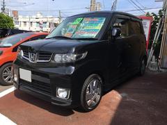 沖縄の中古車 ホンダ ゼストスパーク 車両価格 64万円 リ済別 平成24年 7.4万K ブラック