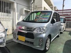 沖縄の中古車 ダイハツ タントエグゼ 車両価格 59万円 リ済別 平成24年 8.4万K シルバー
