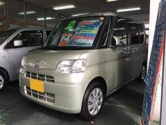 沖縄の中古車 ダイハツ タント 車両価格 64万円 リ済別 平成24年 7.0万K シャンパンゴールド