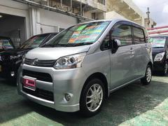 沖縄の中古車 ダイハツ ムーヴ 車両価格 64万円 リ済別 平成24年 8.6万K シルバー
