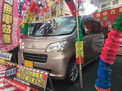 沖縄の中古車 ダイハツ タントエグゼ 車両価格 49万円 リ済別 平成24年 8.1万K ピンク