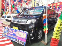 沖縄の中古車 スバル ステラ 車両価格 64万円 リ済別 平成25年 8.8万K ブラックM