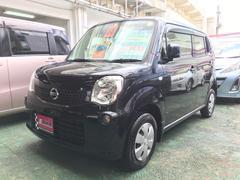 沖縄の中古車 日産 モコ 車両価格 49万円 リ済別 平成25年 9.0万K ブラック
