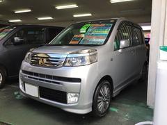 沖縄の中古車 ホンダ ライフ 車両価格 59万円 リ済別 平成24年 7.0万K シルバー