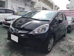 沖縄の中古車 ホンダ フィットハイブリッド 車両価格 59万円 リ済別 平成24年 8.1万K ブラック