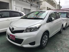 沖縄の中古車 トヨタ ヴィッツ 車両価格 49万円 リ済別 平成24年 8.6万K パールホワイト