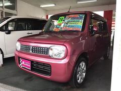 沖縄の中古車 スズキ アルトラパン 車両価格 54万円 リ済別 平成24年 8.9万K ピンク