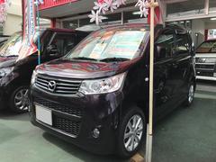 沖縄の中古車 マツダ フレアワゴンカスタムスタイル 車両価格 64万円 リ済別 平成25年 7.2万K ダークパープル