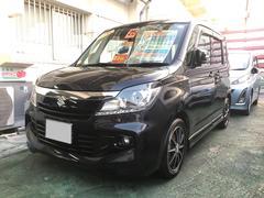沖縄の中古車 スズキ ソリオバンディット 車両価格 75万円 リ済別 平成25年 8.0万K ブラック