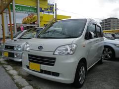 沖縄の中古車 スバル ルクラ 車両価格 75万円 リ済込 平成22年 3.2万K パールホワイト