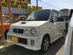 沖縄の中古車 ダイハツ ムーヴ 車両価格 9万円 リ済込 平成12年 15.4万K パールホワイト