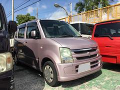 沖縄の中古車 スズキ ワゴンR 車両価格 16万円 リ済込 平成15年 12.5万K ピンク