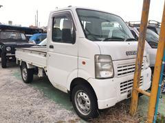 沖縄の中古車 スズキ キャリイトラック 車両価格 49万円 リ済込 平成18年 13.4万K ホワイト