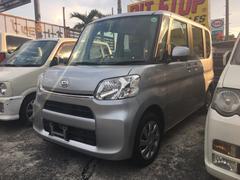 沖縄の中古車 ダイハツ タント 車両価格 80万円 リ済込 平成26年 3.3万K シルバー