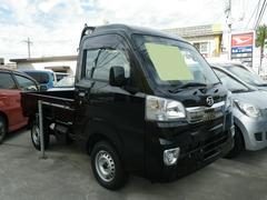 沖縄の中古車 ダイハツ ハイゼットトラック 車両価格 79万円 リ済込 平成28年 4K ブラック