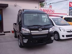 沖縄の中古車 ダイハツ ハイゼットトラック 車両価格 100万円 リ済込 新車  ブラック
