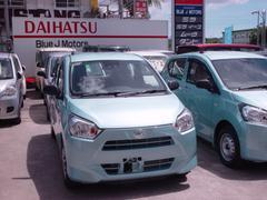 沖縄の中古車 ダイハツ ミライース 車両価格 89万円 リ済込 新車  ライトブルー