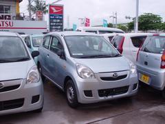 沖縄の中古車 ダイハツ ミラ 車両価格 19万円 リ済込 平成25年 8.4万K シルバー