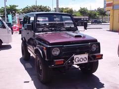 沖縄の中古車 スズキ ジムニー 車両価格 9万円 リ済込 平成6年 16.6万K ブラック
