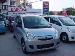 沖縄の中古車 ダイハツ ミラ 車両価格 22万円 リ済込 平成25年 7.2万K グレー